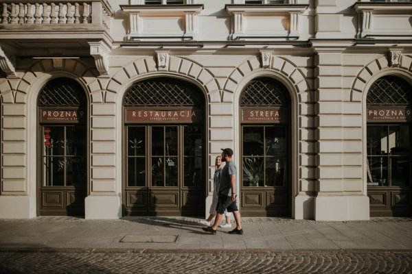 WERONIKA & PIOTR // ENGAGEMENT PHOTO SHOOT IN WARSAW