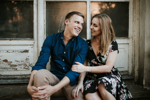 KAROLINA & GEOFFREY // CHARMING EVENING IN THE OLD TOWN