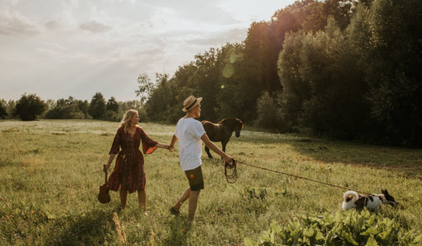 KAROLA & ŁUKASZ // ENGAGEMENT SESSION OUT OF TOWN