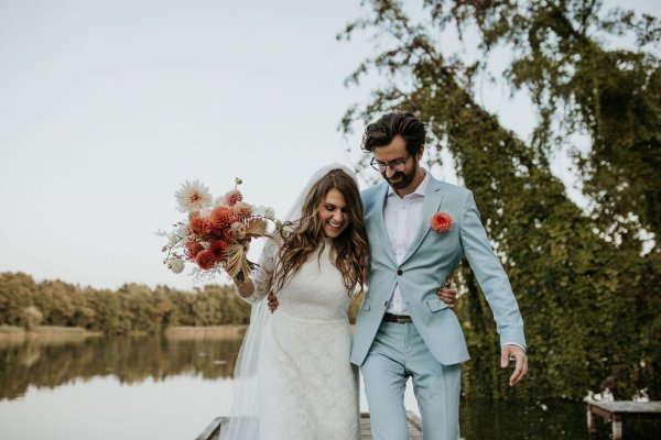 MAGDA & MICHAŁ // ARTSY WEDDING FULL OF COLORS